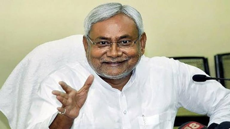 Nitish Kumar walked out of Grand Alliance and went back to the NDA fold. Photo: PTI.
