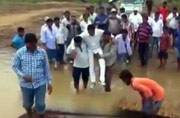 It was their affection: Odisha MLA defends being carried by supporters through mud