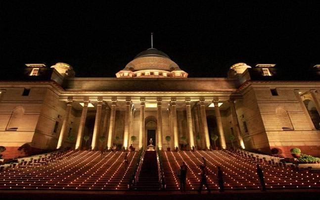 The Rashtrapati Bhavan will have a new occupant on July 25. Photo: PTI.
