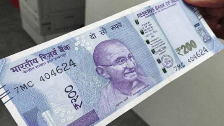 New note of Rs. 200