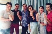 PIC: Salman Khan joins Varun Dhawan, Taapsee and Jacqueline for Judwaa 2