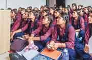 Students at Uttar Pradesh school forced to sit on floor due to lack of furniture