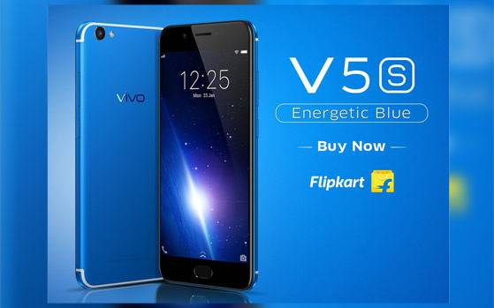 Vivo V5s Energetic Blue colour variant launched in India at Rs