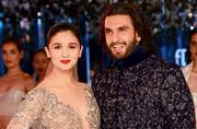 Alia Bhatt and Ranveer Singh ruled the ramp in ethereal outfits by Manish Malhotra