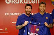 Lionel Messi wishes Neymar good luck for the future