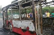 Violence over Ram Rahim verdict hits Delhi: These are the men who set DTC bus ablaze, inform cops if you see them