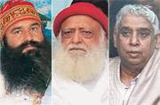 Tonight promises to be a sleepless night for 3 babas- Gurmeet, Asaram and Rampal