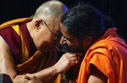 By the Baba's beard: When spiriual leader Dalai Lama met Yoga guru-entrepreneur Ramdev