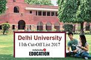 Delhi University 11th cut-off list 2017 to be released tomorrow: You can still get a seat in popular courses