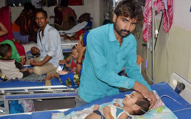 BRD Medical College in Gorakhpur is a nodal site for treatment of encephalitis | Photo: PTI