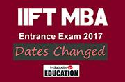 IIFT MBA Entrance Exam 2017 dates changed: All you need to know
