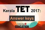 Released! Download Kerala TET 2017 answer keys for August 12 exams here