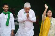 Lalu holds big show of strength post Mahagathbandhan debacle in Bihar