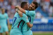 Lionel Messi double gives F.C. Barcelona win at Deportivo Alaves