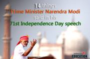10 things Prime Minister Narendra Modi said in his 71st Independence Day speech