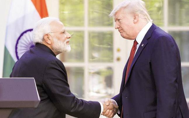 Trump called Prime Minister Narendra Modi to wish India on its Independence Day while he didn't extend the courtesy to Pakistan. (PTI Photo)