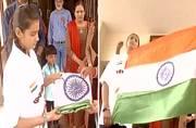 14-year-old Muslim girl from Gujarat vows to hoist Tricolour in Srinagar on Raksha Bandhan