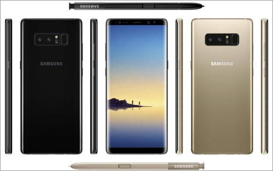Samsung Galaxy Note 8 to have eight colour variants, 256GB
