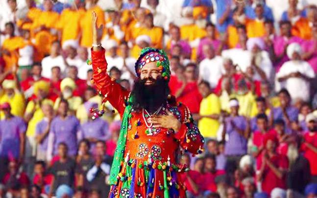 Baba Ram Rahim (Picture courtesy: ANI)