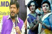 Union Minister Ramdas Athawale 'advises' transgenders not to wear sarees
