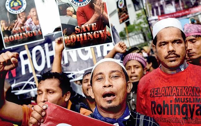 Rohingya Muslim refugee crisis