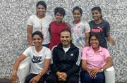Virender Sehwag catches up with India's women cricketing stars