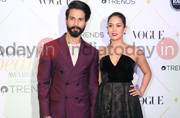 SEE PICS: Shahid Kapoor-Mira Rajput steal the show at awards night