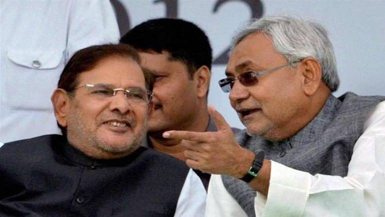 Sharad Yadav and Nitish Kumar