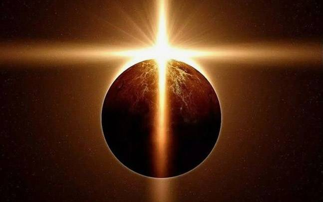 A total solar eclipse. Picture for representational purpose. Picture courtesy: Pinterest/Corinne Cavanagh