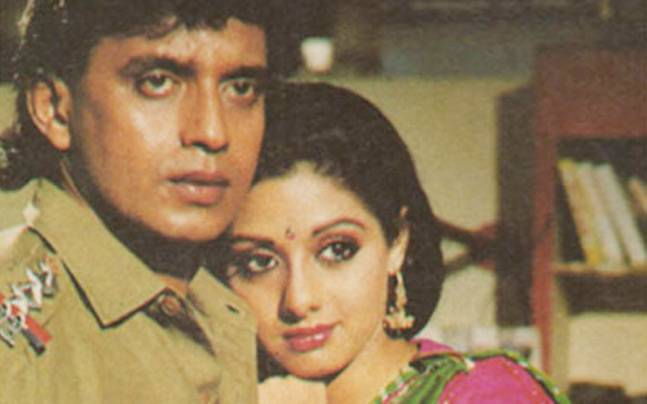 Image result for mithun chakraborty sridevi