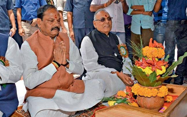 CM Raghubar Das. Photo: Somnath Sen
