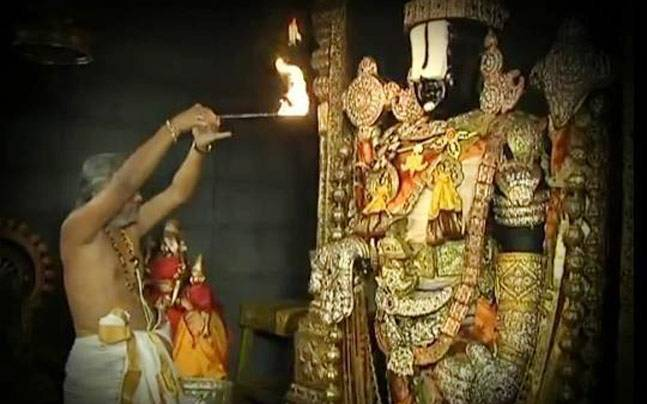 Lord Venkateswara Swamy at Tirumala in Tirupati