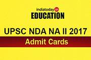 UPSC NDA NA II 2017 admit cards released at upsc.gov.in: Steps to download
