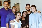 Lovebirds Virat Kohli and Anushka Sharma are painting Sri Lanka red
