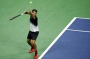 Roger Federer cruises into last 16 at US Open