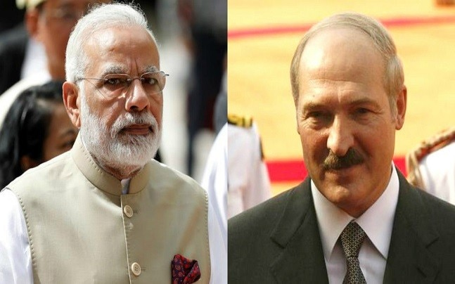 India and Belarus signed 10 MoUs.