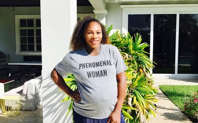 (Serena Williams Twitter Photo)
