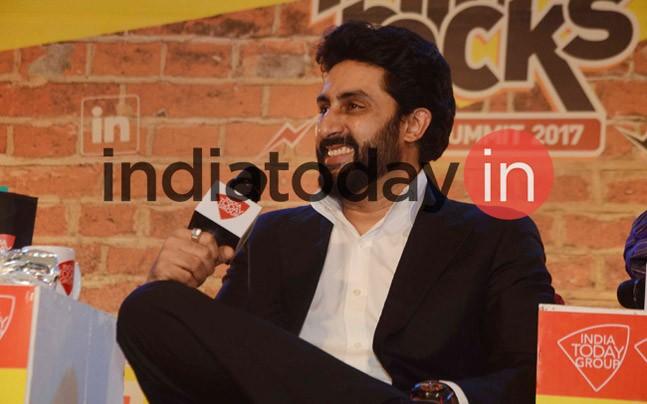 Abhishek Bachchan at Mind Rocks 2017 Bhopal