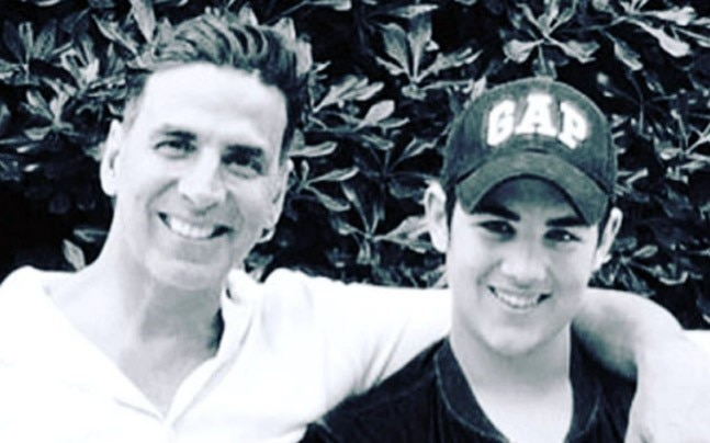 Akshay Kumar and Aarav