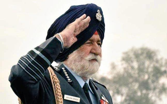Arjan Singh funeral