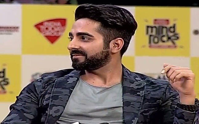 Ayushmann Khurrana at Mind Rocks 2017