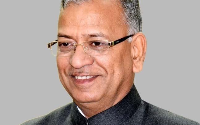 Banaras Hindu University V-C Girish Chandra Tripathi.