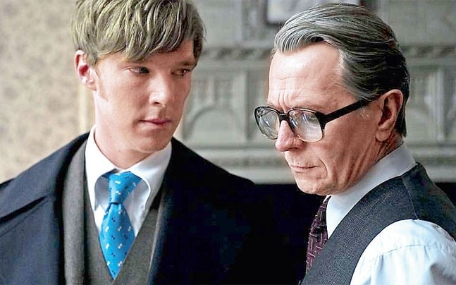 Benedict Cumberbatch (left) and Gary Oldman (right)