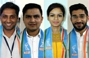 DUSU election result: NSUI of Congress wins big, RSS-backed ABVP gets 2 seats