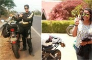 Kanyakumari to Leh: Two women bikers are heading out for a record-breaking journey but for a reason