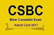 Bihar Police Constable Exam 2017: Admit cards released at csbc.bih.nic.in