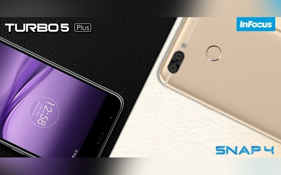 InFocus launches Snap 4, Turbo5 Plus smartphones in India starting at Rs 8,999