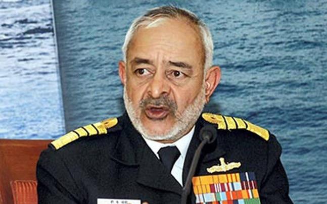 Admiral D K Joshi (retired).