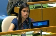Eenam Gambhir is India's First Secretary in the Permanent Mission of India to the UN