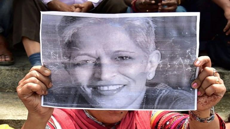 Protests after Gauri Lankesh's murder (PTI)